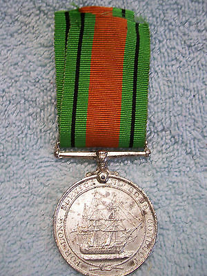 For Service & Good Conduct War medal