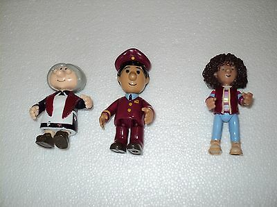 Postman Pat associated figures, Amy, Ajay & Mrs Goggins