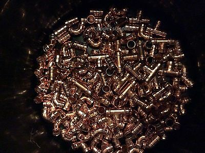 PLUMBING JOBLOT -50 x 15MM SOLDER RING COPPER YORKSHIRE TYPE FITTINGS