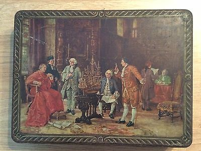 Unusual, Oil Painting?, Vintage, Ashley Vale Biscuit Co. Limited Tin