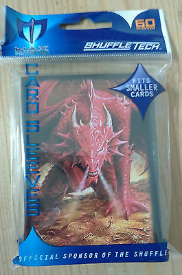Max Protection - Small 60 Wrath of the Dragon Card Game Sleeves (Yu-Gi-Oh)