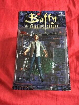 Buffy The Vampire Slayer Xander With Accessories Moore Figure