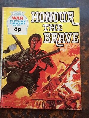War Picture Librsry No 832 Honour The Brave