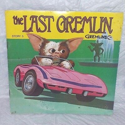 """""""the Last Gremlin"""" Story 5 Book And Read Along Record"""