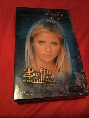 """Buffy The Vampire Slayer Prophecy Girl Buffy With Accessories Sideshow 12""""Figure"""
