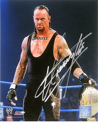 The Undertaker Reprint Autographed Signed Picture Photo Collectible Auto Rp Wwe