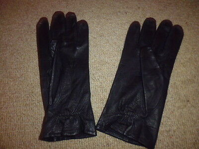 Chester Jeffries Ladies Leather Sportac Riding Gloves show competition black