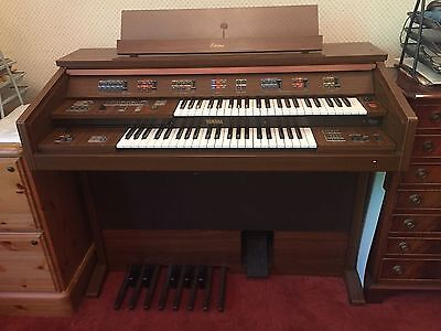 Yamaha Electone FE-40 Electric Organ With Pedals including Music Storage Stool