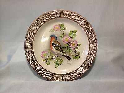 Purbeck Pottery Decorative collectable bird plate
