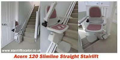 Acorn 120 Straight stairlift Including Installation