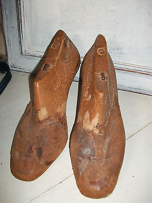 Vintage French wooden shoe lasts
