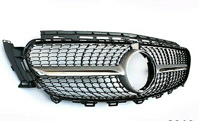Mercedes Benz Diamond Silver AMG style grill inc star for E-Class 2016 W213