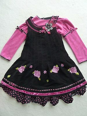 Xmas - Fabulous Little Darlings Outfit Dress,  Age 4 (VGC) - Party!!