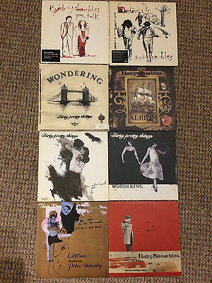LP Vinyl Collection - Dirty Pretty Things / Baby Shambles / Peter Doherty