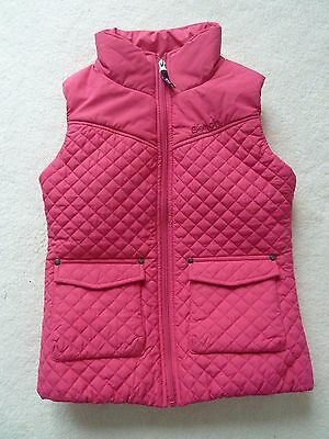 MINT Bench Girls Jilly Gilet, Quilted Sleeveless Jacket, Age 9-10, Very Joules