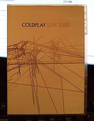 Coldplay 2003 DVD and CD Set