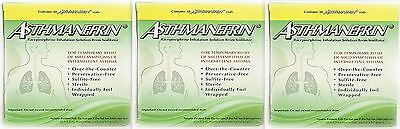 Asthmanefrin Asthma Medication Refill -- 90 Vials - 3 boxes PRIORITY SHIP!