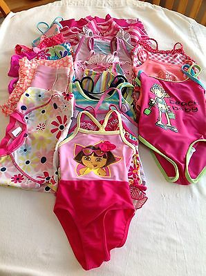 20 Items Of Girls Age 3-24 Months Swim Wear Used Condition