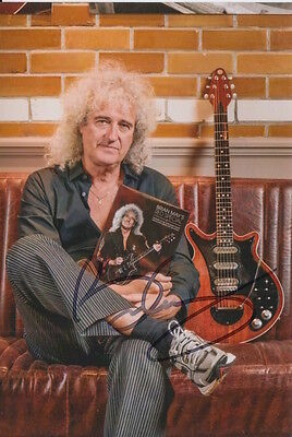 Brian May Hand Signed 6X4 Photo Queen.