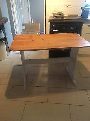 Pine Kitchen Table , Dining Table, Desk , Shabby Chic