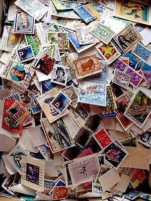 Collection Of 100 World Stamps