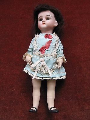 antique bisque Heubach tiny 8 inch doll