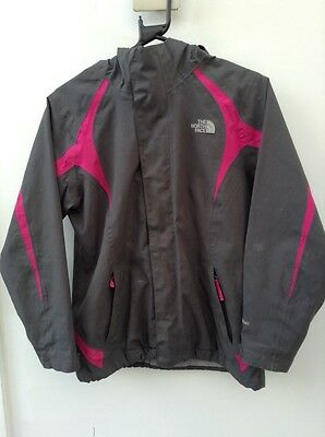girls hyvent the north face jacket size large Age 14/16