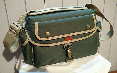 Camera Bag with 7 compartments and carrying strap