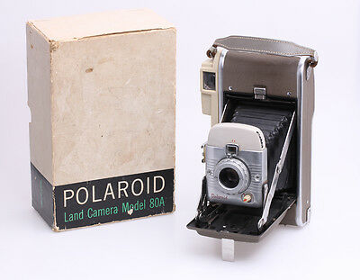 Polaroid Land Camera Model 80A Highlander