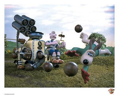 Wallace & Gromit Official Limited Edition artwork - The Soccermatic