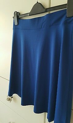 Girls Blue Skirt By H & M Size M