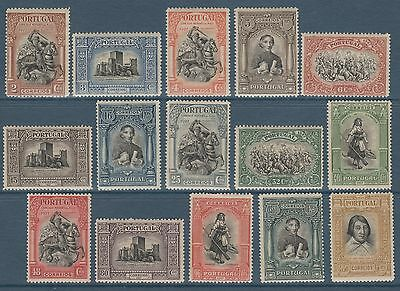 Portugal - 1927 - Independance Du Portugal - Serie Complete - Mh