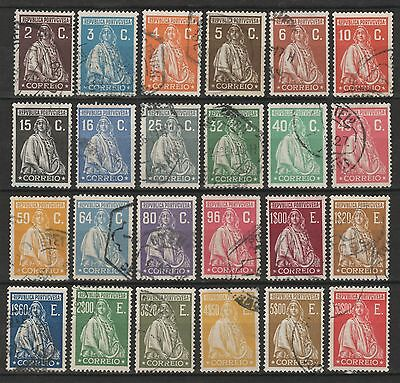 PORTUGAL - 1926 - CERES (Londres) - SERIE COMPLETE - USED