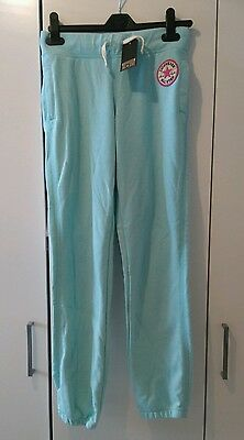 Bnwt Authentic Girls Converse All Star Teal Jogging Bottoms Size Large Age 12-13
