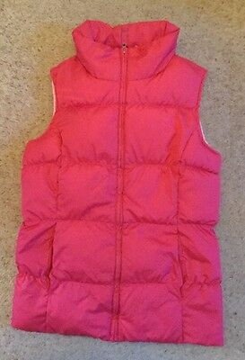 Lands End Girls Insulated Quilted  Body Warmer  Age 10-11 Years  Ex Cond