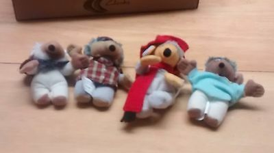 Bundle of Wombles McDonalds soft toys
