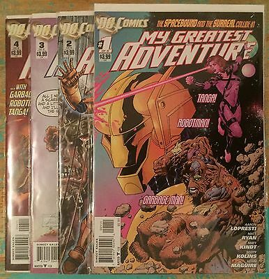 My Greatest Adventure #1-4  (New 52, DC 2011) FN-NM First Prints