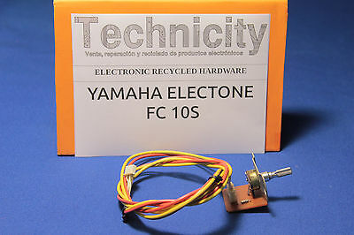 Yamaha Electone  Fc 10S - Main Volume Board - Placa Control Volumen   - Tested