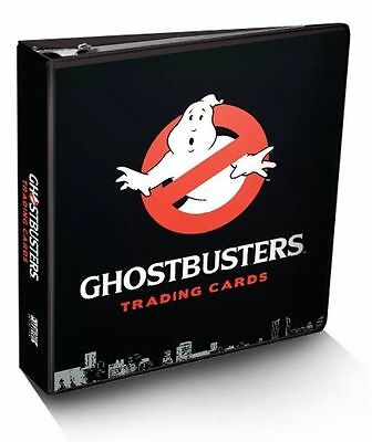 Ghostbusters Trading Card Album Binder Brand NEW Sealed w/ Replica Patch Card