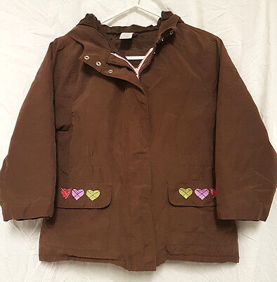 Excellent smart girls GYMBOREE brown Autumn coat - age 7 years