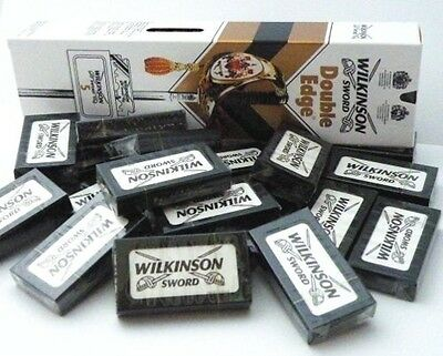 Wilkinson Sword Double Edge Classic Mens Safety Razor Blades Barber Cut