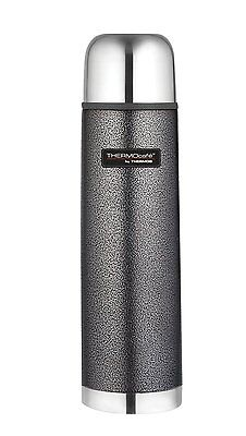 Thermos Thermocafe Hammertone Stainless Steel Flask Cold / Hot Water Winter 1.0L