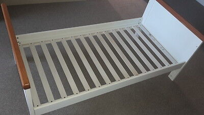 white and oak cot bed - Mothercare Summer oak / Whitehaven