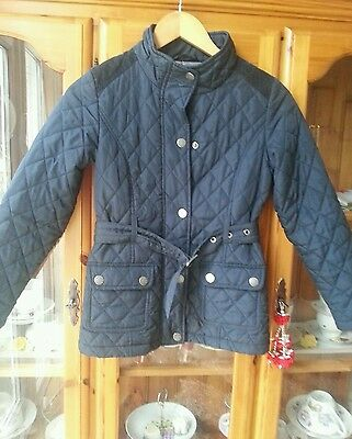NEXT girls quilted jacket 9-10 years.