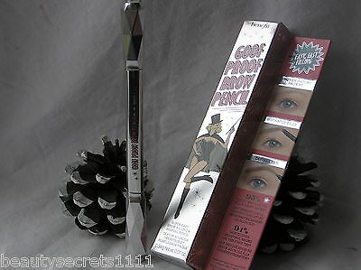 Benefit - NEW - Goof Proof Brow Pencil - #No 4  - Full Size & Brand New & Boxed