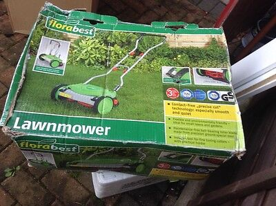 FLORABEST Push Lawnmower - Used