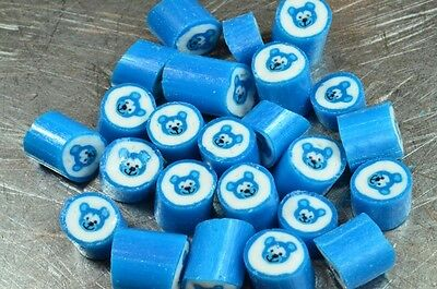 1kg Rock Candy - Blue Teddy Bears Kids Party, Baby Shower