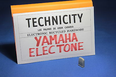 Yamaha Electone   - Plastic Knob Slide ( Grey )  For Electone Organs - Tested
