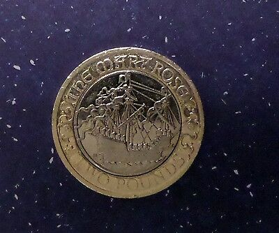MARY ROSE 2011 Commemorative Two pound coin £2.