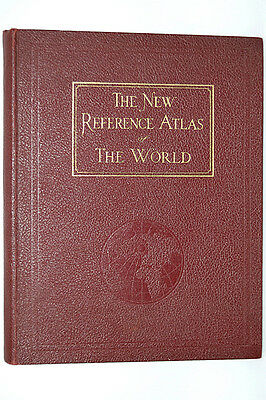 The New Reference Atlas Of The World By CS Hammond 1935
